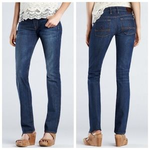 Lucky Brand Sofia Straight Leg Mid Rise Jeans